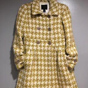Vintage Inspired Houndstooth Coat